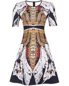 Clover Canyon Exclusive Short Sleeve Matador De Toros Dress - Lyst