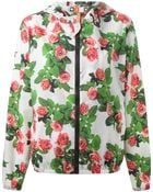 MSGM All-Over Rose-Print Windbreaker - Lyst