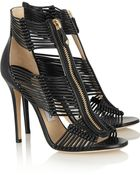 Jimmy Choo Leather Sandals - Lyst