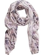 H&M Silk Scarf - Lyst
