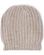Autumn Cashmere Hand Knit Bag Hat - Lyst