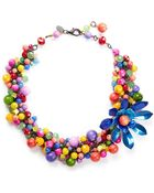 Erickson Beamon ''Kumbaya' Flower Bead Necklace - Lyst