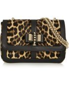Christian Louboutin Sweet Charity Leopard-Print Calf Hair Shoulder Bag - Lyst