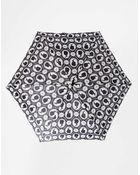 Lulu Guinness Tiny 2 Cameo Umbrella - Lyst