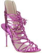 Sophia Webster Lacey Sandals - Lyst