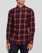 Gant Rugger Winter Madras Button Down Shirt - Slim Fit - Lyst