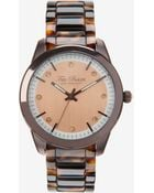 Ted Baker Tortoiseshell Watch - Lyst