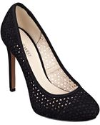 Nine West Nokota Round Toe Pumps - Lyst