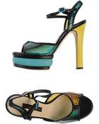 Chrissie Morris Sandals - Lyst