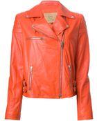 McQ by Alexander McQueen Classic Biker Jacket - Lyst