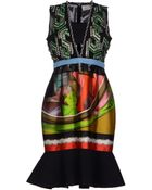 Peter Pilotto Kneelength Dress - Lyst
