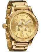 Nixon 51-30 Chronograph Watch, 51Mm - Lyst