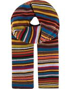 Paul Smith Signature Striped Scarf - Lyst