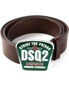 DSquared2 Logo Belt - Lyst
