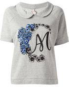 Antonio Marras Embroidered Tshirt - Lyst