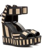 Pierre Hardy Wedge Sandals - Lyst