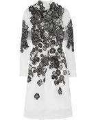 Erdem Effie Embroidered Silk-Organza Dress - Lyst
