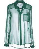 Diane von Furstenberg Shirt - Lyst
