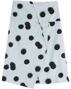 Marc By Marc Jacobs Printed Cotton Skirt - Lyst