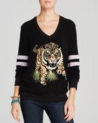 Wildfox Sweatshirt - Tiger Spirit - Lyst