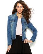 Inc International Concepts Distressed Denim Jacket - Lyst