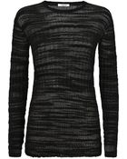 Helmut Lang Eroded Threads Sweater - Lyst