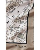 Burberry Paris Landmarks Silk Square - Medium - Lyst