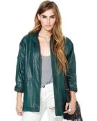 Nasty Gal Work Your Magic Leather Jacket - Lyst