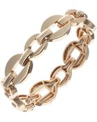 Anne Klein On The Links Goldtone Stretch Bracelet - Lyst
