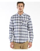 Michael Stars Plaid Button Down Shirt - Lyst