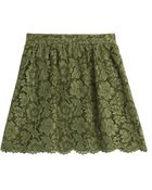 Valentino Lace Skirt - Lyst