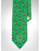 Polo Ralph Lauren Pony Linen Narrow Tie - Lyst