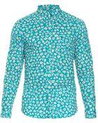 Burberry Brit Swift Floral-Print Cotton Shirt - Lyst