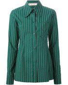 Marni Oversized Collar Shirt - Lyst