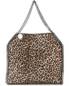 Stella McCartney Falabella Leopard-Print Tote - Lyst