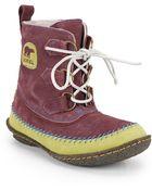 Sorel Joplin Suede Ankle Boots - Lyst