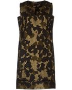 Rochas Short Dress - Lyst