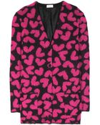 Saint Laurent Mohair-Blend Cardigan - Lyst