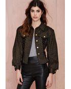 Nasty Gal Vintage Jean Paul Gaultier Tied Up Corset Jacket - Lyst