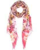 Etro Wool And Silk-Blend Scarf - Lyst