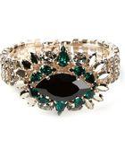 Anton Heunis Swarovski Crystal Bracelet - Lyst
