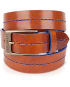 Ted Baker Theseam Stitched Leather Belt - Lyst
