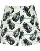 River Island Green Pineapple Print Shorts - Lyst