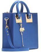 Sophie Hulme Square Albion Leather Shoulder Bag - Lyst
