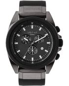 Nixon Gunmetal Black Chrono The Rover Watch - Lyst
