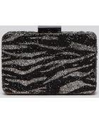 Sondra Roberts Clutch - Stone Box Zebra - Lyst