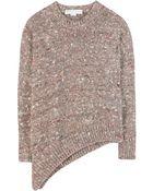 Stella McCartney Asymmetric Wool Sweater - Lyst