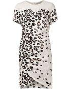 Sea Leopard Lace Sheath Dress - Lyst