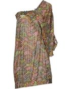 M Missoni Short Dress - Lyst