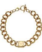 Michael Kors Necklace - Lyst